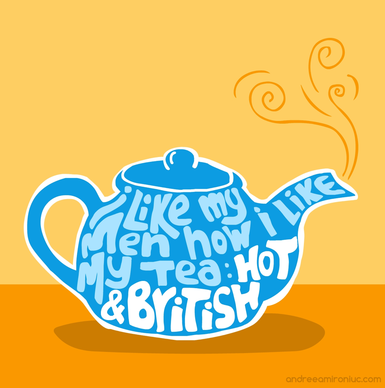 i like my men tea