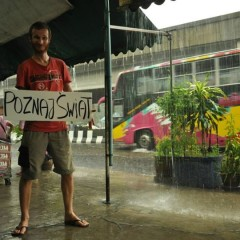 From Poland to Malaysia with a smile and a thumb